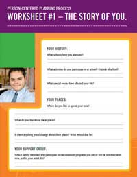The Story of You Worksheet
